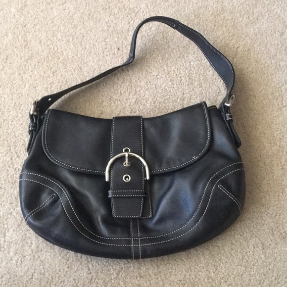 Coach Handbags - Black Coach Purse